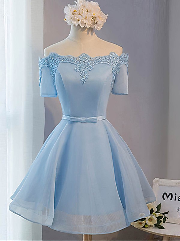 Princess Sequins Satin Homecoming Dresses