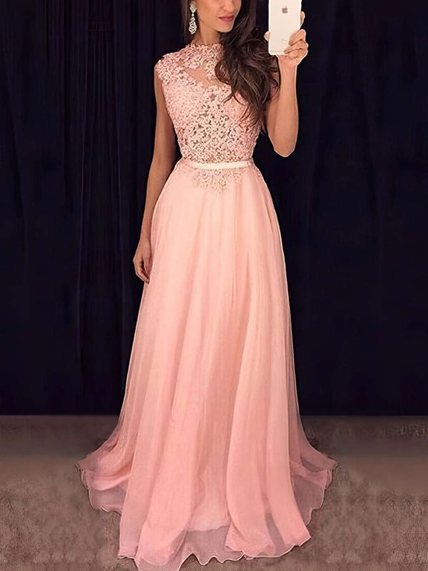Sequins Sweet & Flow Prom Dress