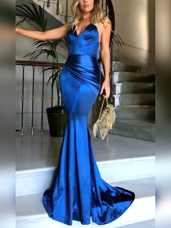 Mermaid V-neck Sexiest Prom Dress