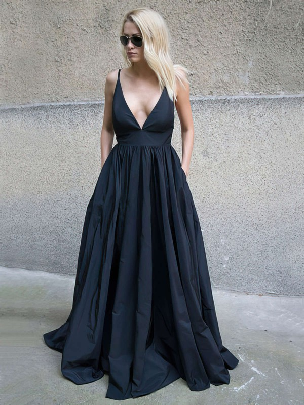 Sexy Long Open Back Ball Gown Formal Dresses