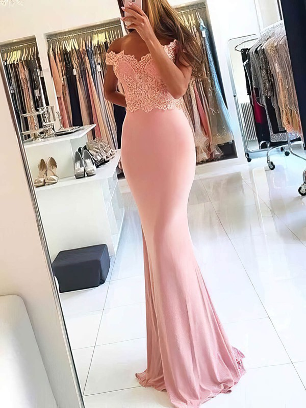 Long Jersey Sweet & Flow Prom Dresses