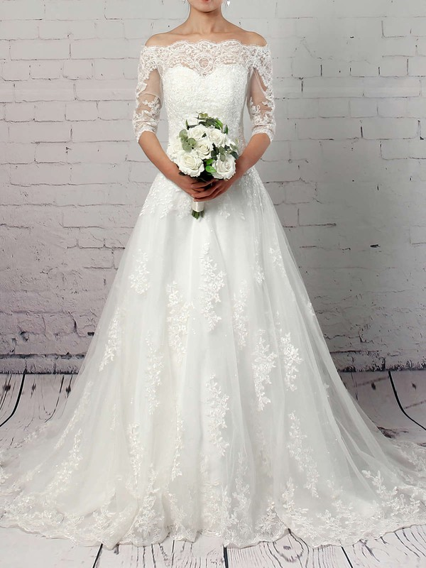 Elegant Ball Gown Ivory New Bridal Gowns