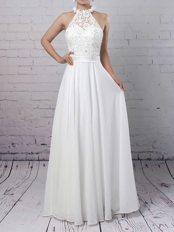 Elegant Lace Sequins Inexpensive Wedding Dresses