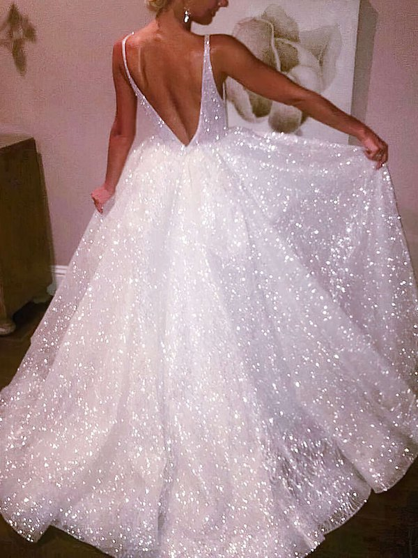 Glitter Princess Bling Prom Dresses 2020